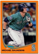 2013 Topps Factory Set Orange Michael Saunders Baseball Card