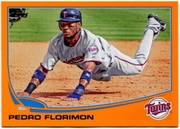 2013 Topps Factory Set Orange Pedro Florimon Baseball Card