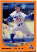 2013 Topps Factory Set Orange Randy Choate Baseball Card