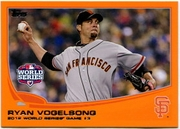 2013 Topps Factory Set Orange Ryan Vogelsong Baseball Card
