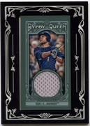 2013 Topps Gypsy Queen Framed Mini Relics Corey Hart Baseball Card