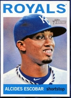 2013 Topps Heritage Alcides Escobar Baseball Card
