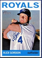 2013 Topps Heritage Alex Gordon Baseball Card