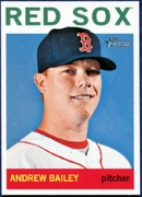 2013 Topps Heritage Andrew Bailey Baseball Card