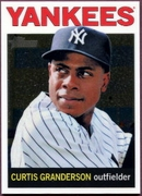 2013 Topps Heritage Chrome Curtis Granderson Baseball Card