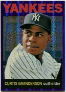 2013 Topps Heritage Chrome Purple Refractors Curtis Granderson Baseball Card
