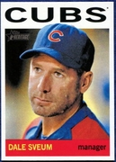 2013 Topps Heritage Dale Sveum Manager Baseball Card