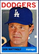 2013 Topps Heritage Don Mattingly Manager Baseball Card