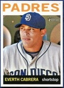 2013 Topps Heritage Everth Cabrera Baseball Card