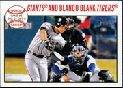2013 Topps Heritage Gregor Blanco World Series Baseball Card