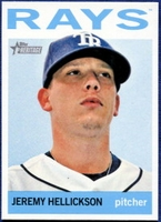 2013 Topps Heritage Jeremy Hellickson Baseball Card