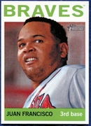 2013 Topps Heritage Juan Francisco Baseball Card