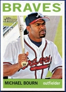 2013 Topps Heritage Michael Bourn Baseball Card