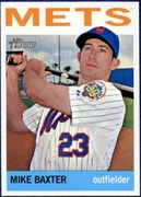 2013 Topps Heritage Mike Baxter Baseball Card