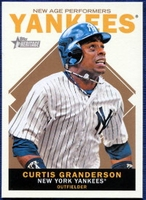 2013 Topps Heritage New Age Performers Curtis Granderson Baseball Card