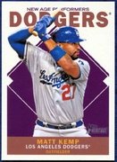 2013 Topps Heritage New Age Performers Matt Kemp Baseball Card