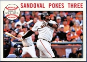 2013 Topps Heritage Pablo Sandoval World Series Baseball Card