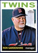2013 Topps Heritage Ron Gardenhire Manager Baseball Card