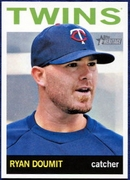 2013 Topps Heritage Ryan Doumit Baseball Card
