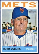 2013 Topps Heritage Terry Collins Manager Baseball Card