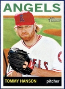 2013 Topps Heritage Tommy Hanson Baseball Card
