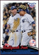2013 Topps Opening Day Ballpark Fun Derek Jeter Baseball Card