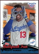 2013 Topps Opening Day Ballpark Fun Hanley Ramirez Baseball Card