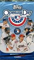 2013 Topps Opening Day Baseball Cards Pack