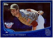 2013 Topps Opening Day Blue Sparkle Huston Street Baseball Card