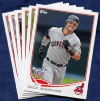 2013 Topps Opening Day Cleveland Indians Baseball Cards Team Set