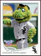 2013 Topps Opening Day Mascots Chicago White Sox Baseball Card