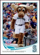 2013 Topps Opening Day Mascots Mariner Moose Baseball Card
