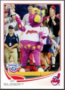 2013 Topps Opening Day Mascots Slider Baseball Card