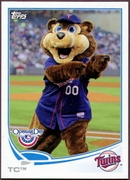 2013 Topps Opening Day Mascots TC Baseball Card