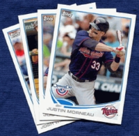 2013 Topps Opening Day Minnesota Twins Baseball Cards Team Set