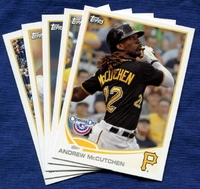 2013 Topps Opening Day Pittsburgh Pirates Baseball Cards Team Set