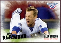 2013 Topps Opening Day Play Hard Alex Gordon Baseball Card