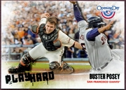 2013 Topps Opening Day Play Hard Buster Posey Baseball Card