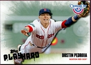 2013 Topps Opening Day Play Hard Dustin Pedroia Baseball Card