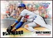 2013 Topps Opening Day Play Hard Hanley Ramirez Baseball Card