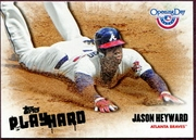 2013 Topps Opening Day Play Hard Jason Heyward Baseball Card