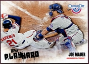 2013 Topps Opening Day Play Hard Joe Mauer Baseball Card