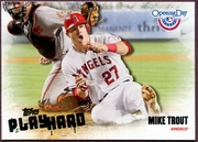 2013 Topps Opening Day Play Hard Mike Trout Baseball Card