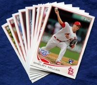 2013 Topps Opening Day St. Louis Cardinals Baseball Cards Team Set
