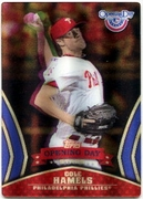 2013 Topps Opening Day Stars 3D Cole Hamels Baseball Card