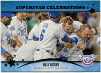 2013 Topps Opening Day Superstar Celebrations Billy Butler Baseball Card