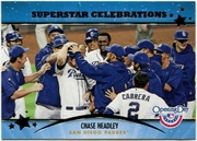 2013 Topps Opening Day Superstar Celebrations Chase Headley Baseball Card