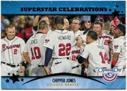 2013 Topps Opening Day Superstar Celebrations Chipper Jones Baseball Card