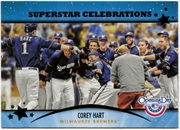 2013 Topps Opening Day Superstar Celebrations Corey Hart Baseball Card