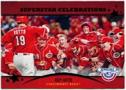2013 Topps Opening Day Superstar Celebrations Joey Votto Baseball Card
